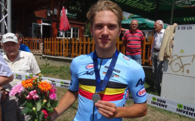WAVE poulain Ilan Van Wilder for silver at the EC time trail