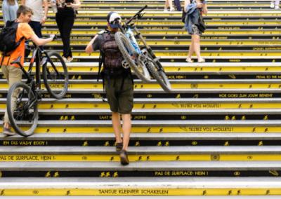NMBS/SNCB – A Yellow Journey (Tour De France)